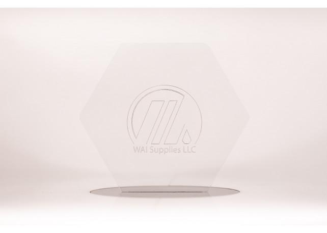 "Clear Acrylic - 1/8"" (3mm)"