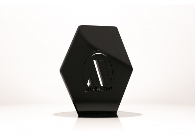 "Black Acrylic - 1/8"" (3mm)"