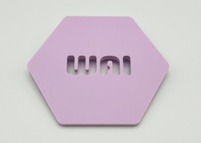 "Matte Ube Bae Acrylic (2 Sides) - 1/8"" (3mm)"