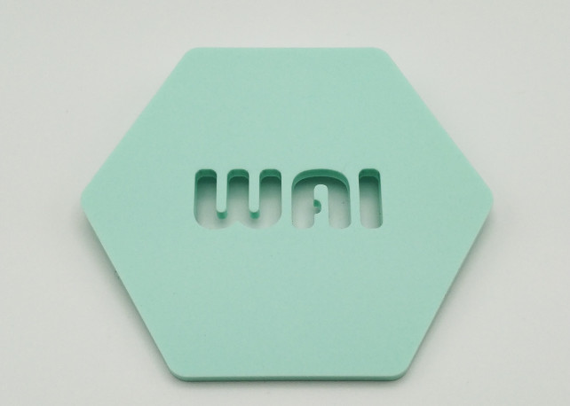 """Matte Mint To Be Acrylic (2 Sides) - 1/8"""" (3mm)"""